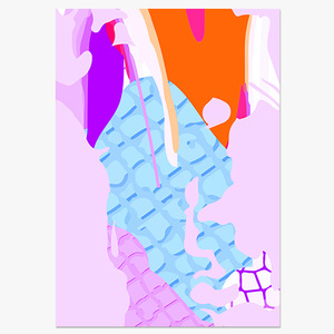 Abstract Art Illustration (추상일러스트-03)