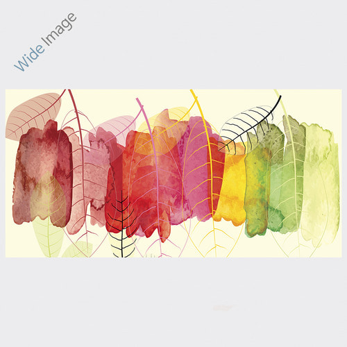Abstract Watercolor, (추상 수채화 ) - 와이드