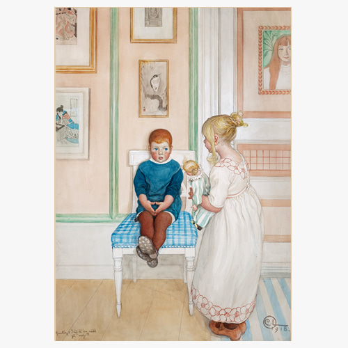 Carl Larsson,(칼 라르손의 Say are you afraid...))