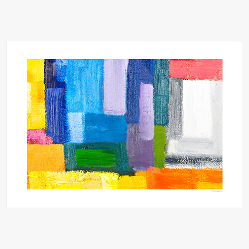 Abstract Art Painting (추상회화)